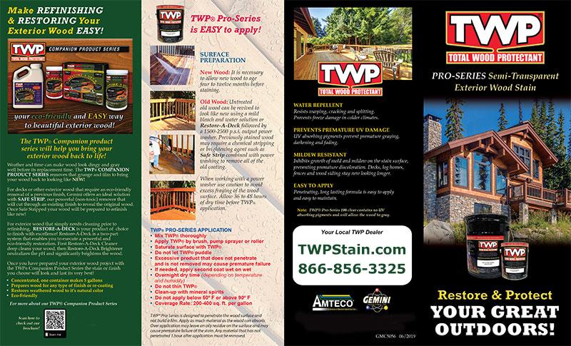 TWP 100 Pro Series Brochure1
